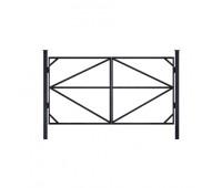 Каркас ворот не оцинкованный усиленный 3,5 м