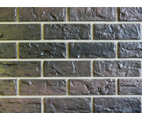 Цокольный сайдинг Nailite Hand-Laid Brick (Кирпич) CHAR BROWN