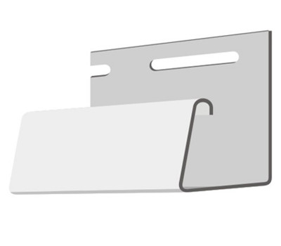 Джи планка цокольная (длина 3м) для цокольного сайдинга Holzplast Wandstein