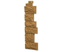 Угол наружный для Цокольного сайдинга Fineber коллекция Дикий камень Песочный