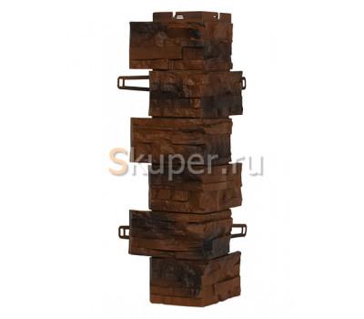 Угол для цокольного сайдинга Royal Stone Скалистый камень - Калгари