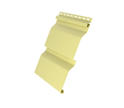 Виниловый сайдинг Grand Line (Гранд Лайн) серия D4 - Желтый