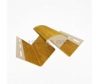 Внутренний угол для винилового бревна Holzblock (Хольцблок), Золотой дуб (3,00м)
