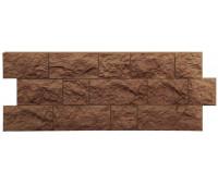 Цокольный сайдинг (фасадные панели) Docke (Деке) , Fels (скала), Roggenfels Ржаной
