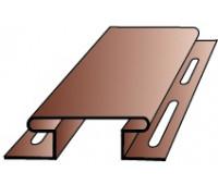 H-профиль (соеденительная планка) для винилового сайдинга Альта-Профиль под Блокхаус, 3,05м