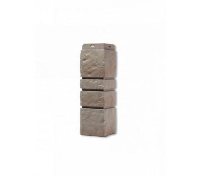 Угол наружный для Цокольного сайдинга Docke коллекция Burg Песчанный