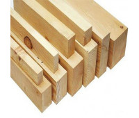 Брусок деревянный строганный 50х25х3000мм