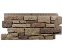 Цокольный сайдинг Nailite Creek Ledgestone (Бутовый камень) Rocky Mountain Clay