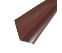 Планка примыкания для металлочерепицы
