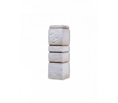 Угол наружный для Цокольного сайдинга Docke коллекция Burg Льняной