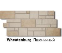 Цокольный сайдинг (фасадные панели) Docke (Деке) , Burg (камень), Wheatenburg Пшеничный