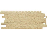 Цокольный сайдинг (фасадные панели) Docke (Деке) , Edel (каменная кладка), Оникс