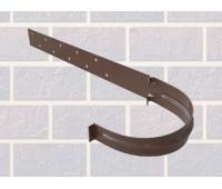Кронштейн желоба металлический Коричневый для водосточной системы Альта-Профиль (Россия)