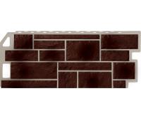Цокольный сайдинг Fineber коллекция камень - Natur Коричневый