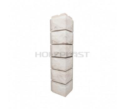 Внешний Угол Holzplast Wandstein для коллекции Скол Белый