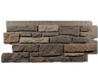Цокольный сайдинг Nailite Creek Ledgestone (Бутовый камень) Bucks County Gray