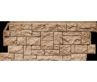 Цокольный сайдинг Fineber коллекция камень дикий - Терракотовый