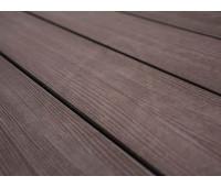 Террасная доска Savewood - Fagus Радиальная Терракот 4м