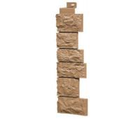 Угол наружный для Цокольного сайдинга Fineber коллекция Дикий камень Терракотовый