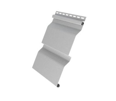 Виниловый сайдинг Grand Line (Гранд Лайн) серия D4 - серый