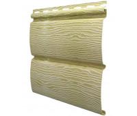 Виниловый сайдинг Ю-пласт коллекция TIMBERBLOCK (Тимберблок), Дуб золотой