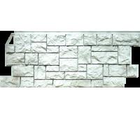 Цокольный сайдинг Fineber коллекция камень дикий - Жемчужный