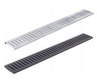 Дренажная система Альта профиль Решетка для лотка металлическая