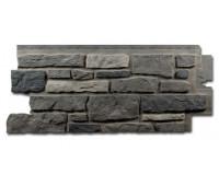 Цокольный сайдинг Nailite Creek Ledgestone (Бутовый камень) Appalachain Ash