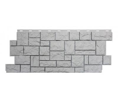 Цокольный сайдинг NORDSIDE «Камень северный» Белый