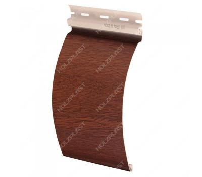 Виниловый сайдинг Holzplast Holzblock (Хольцблок) под бревно, Золотой Дуб
