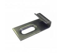 Кляймер стартовый / финишный для террасной доски «SaveWood», нержавеющая сталь
