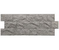 Цокольный сайдинг (фасадные панели) Docke (Деке) , Fels (скала), Northfels Северная скала