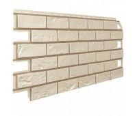 Фасадная панель VILO Brick Фуга кирпич IVORY (Слоновая кость)