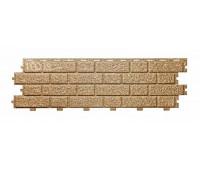 Фасадные панели (цокольный сайдинг) Tecos BRICKWORK Camel Melange (Кэмел Меланж)
