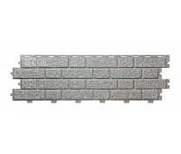 Фасадные панели (цокольный сайдинг) Tecos BRICKWORK Silver Melange (Сильвер Меланж)