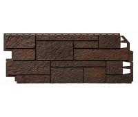 Фасадные панели VOX кирпич Sandstone (Сандстоун) - Dark Brown Темно-коричневый