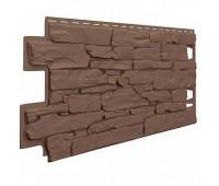 Фасадные панели VOX (вокс) камень Vilo Stone Dark brown Коричневый