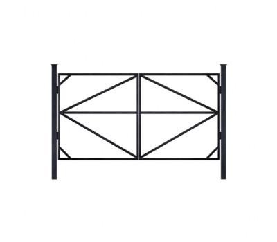 Каркас ворот не оцинкованный усиленный 4,0 м
