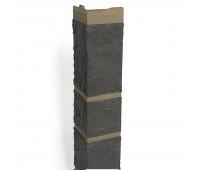 Угол наружный для цокольного сайдинга Альта Профиль КОЛЛЕКЦИЯ «КАМЕНЬ» Серый