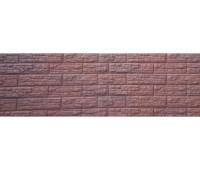 Цокольный сайдинг Доломит коллекция Скалистый риф премиум - Каштан