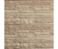 Цокольный сайдинг Доломит коллекция Скалистый риф люкс - Янтарь