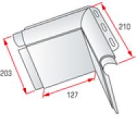 Угловой элемент откоса Альта профиль