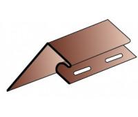 Приоконная планка (околооконный профиль) для  сайдинга Альта-Профиль под Блокхаус