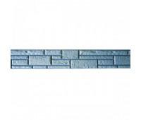 Цокольный сайдинг Доломит коллекция Прокрашенные швы - Серо-голубой