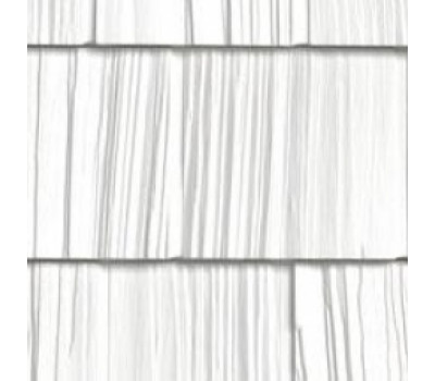 Цокольный сайдинг Foundry щепа ровный край Снежный край 831
