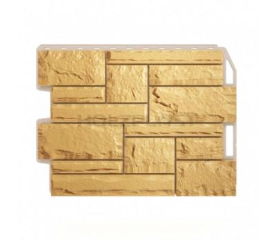 Цокольный сайдинг Holzplast Wandstein Бут Sandgelb / Песочный