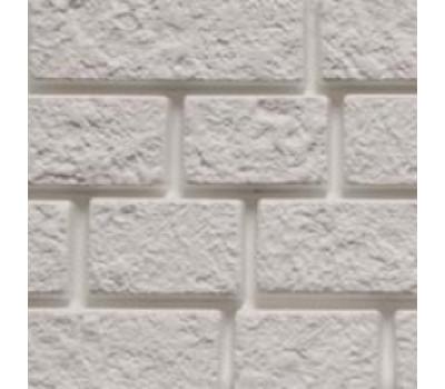Цокольный сайдинг Foundry кирпич Снежно-белый 123