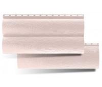 Виниловый сайдинг Альта Профиль Blockhouse (Блокхаус - под бревно), двухпереломный, Персиковый