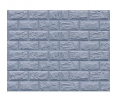 Цокольный сайдинг Доломит коллекция Альпийский дикий камень - Серо-голубой