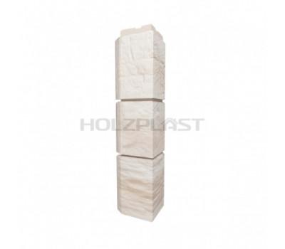 Внешний Угол Holzplast Wandstein для коллекции Туф Белый
